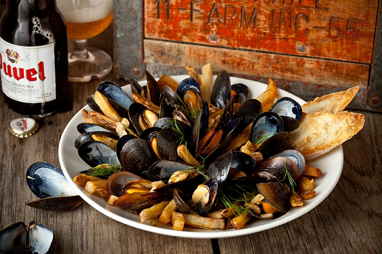 The Coopers Tavern Mussels