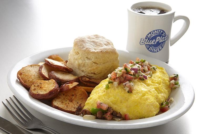 Monty's Blue Plate Diner Omelet