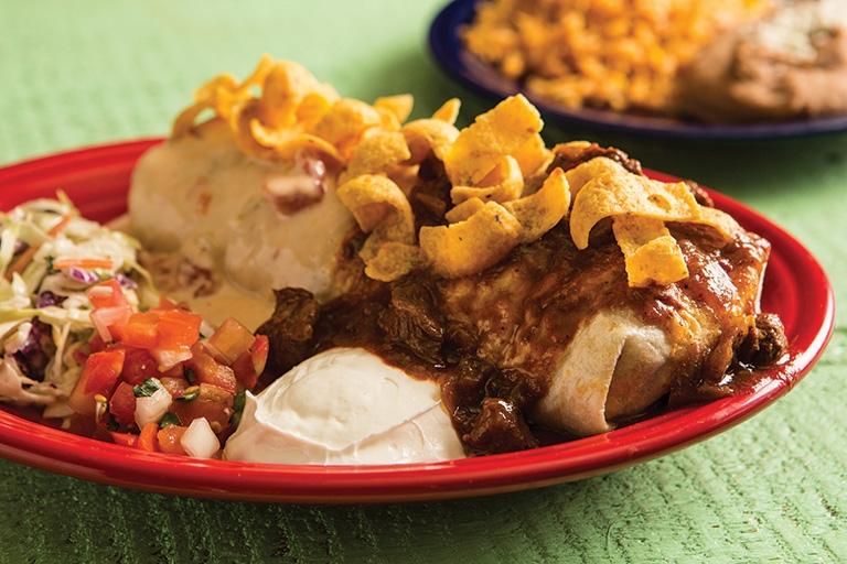 Tex Tubb's Taco Palace Frito Burrito