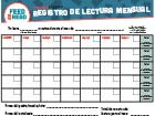 Feed the Read Calendar Spanish