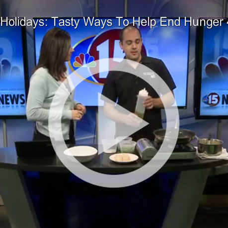 Tasty Ways to End Hunger